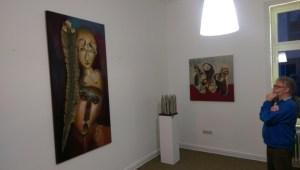 Juergen_Heinrich_Block_mit_werken_zur_Ausstellung_DESIDERATA_in_der_Galerie_an_der_Ruhr,Muelheim_Fotoi_by_Ivo_Franz