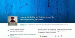 Gedichte im Voruebergehen-XING
