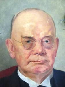 Karl Friedrich Schmitz-Scholl (Senior) Portraitausschnitt von 1923 aus der Sammlung der RUHR GALLERY MUELHEIM