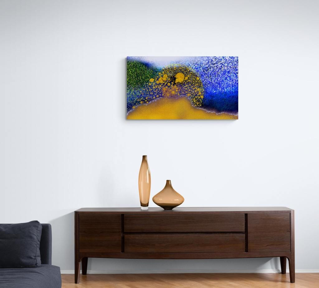 """""""Spring"""" is an art print for sale in limited edition, to redecorate your home with wall art that speaks to the heart"""