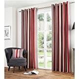 rideaux cuisine rouge et gris galerie