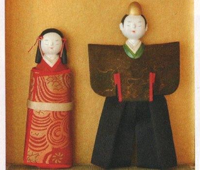 喜多村桃世「箱飾り古布立雛」展