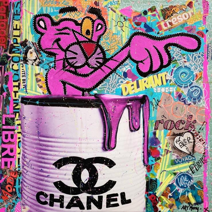 Pop pink Panther