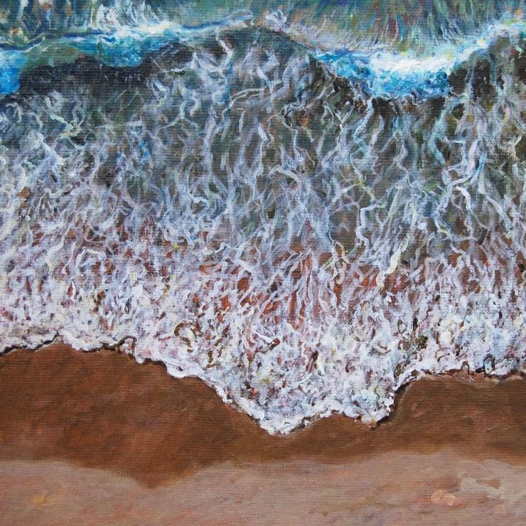 Fluidez-peinture d'Isabelle Jacq Gamboena