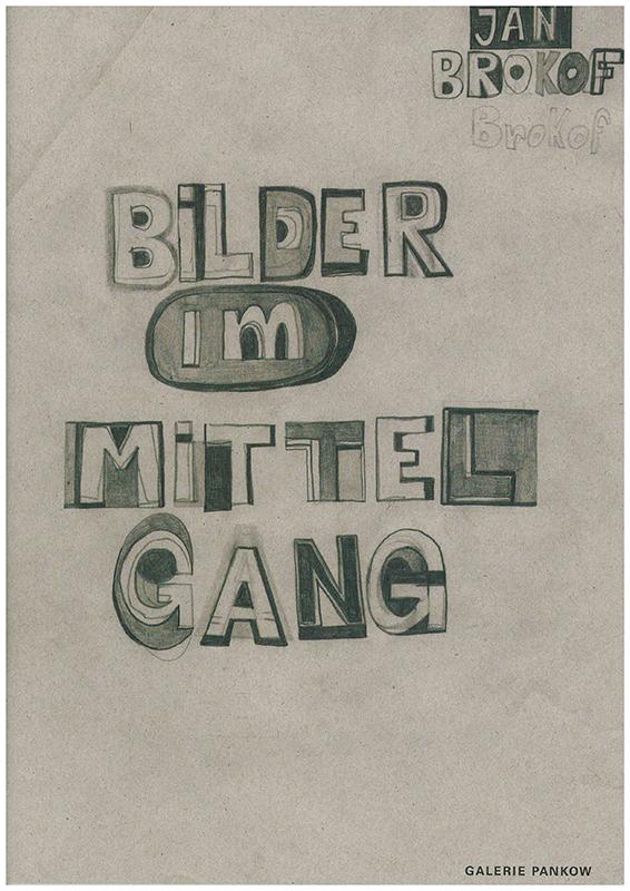 Umschlag des Katalogs von Jan Brokof