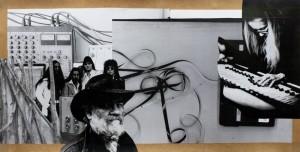 """Klaus Killisch """"o.T."""" 2015, Collage"""