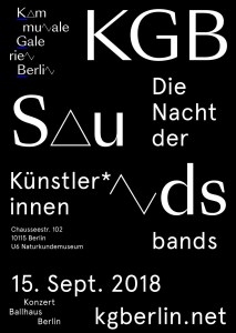 KGB-Sounds Poster 2018