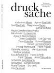 """""""DRUCK _ SACHE"""" Tendenzen zeitgenössischer Druckgrafik Cover"""