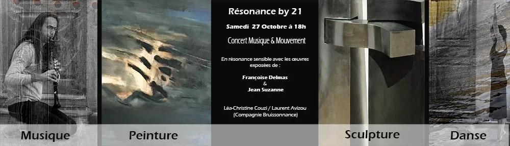 françoise et jean devernissage galerie 21
