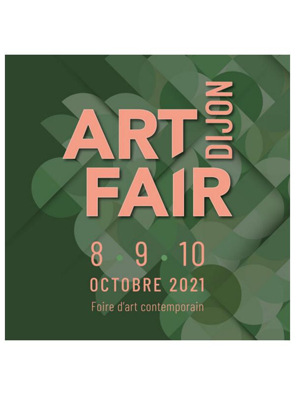 poster art fair dijon, contemporary art fair in France