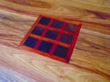 motif carré petits damiers