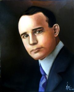 Napoleon hill portrait