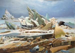 La mer de glaçe Caspar David Friedrich