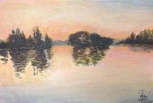 Paul Signac coucher de soleil