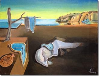 la persistance de la memoire 2 Salvador Dali