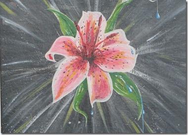 Martine Gollinucci fleur de lys