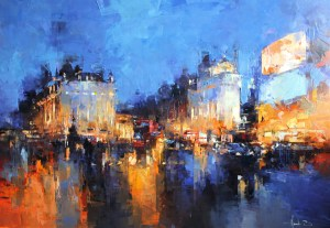 Nuit sur Piccadilly Londres