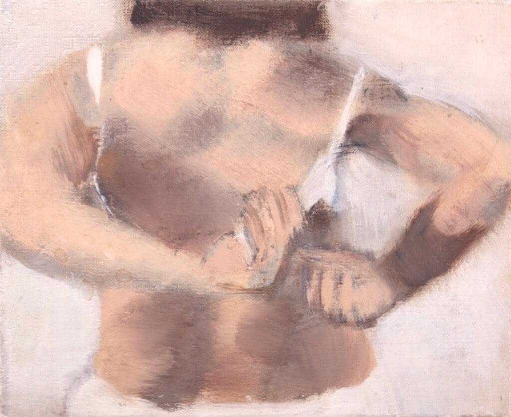 """Tableau Elisabeth Dujarric : série - """"Le petit lever"""""""