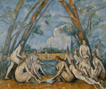 Paul Cézanne, Grandes baigneuses, 1906