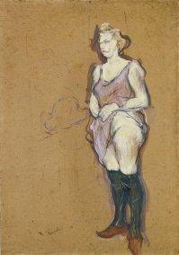 Toulouse Lautrec, Femme de maison blonde, 1894