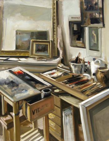Christoff DEBUSSCHERE - l'atelier à St Hilaire