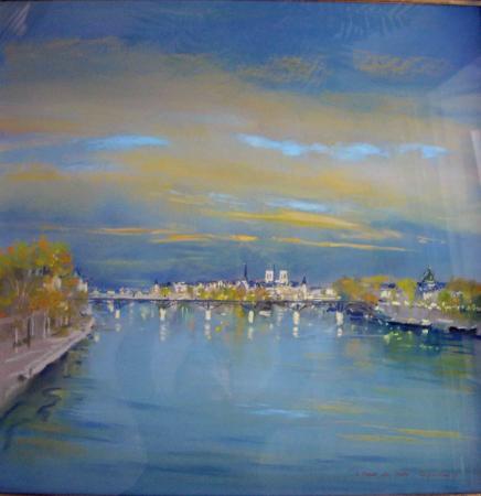 Jacques  COQUILLAY - Paris Le Pont des Arts