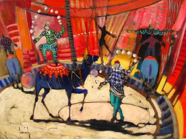 Olivier SUIRE-VERLEY - Le dromadaire au cirque