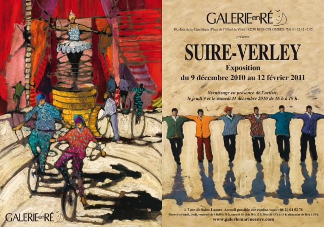Olivier SUIRE-VERLEY - carton 2010