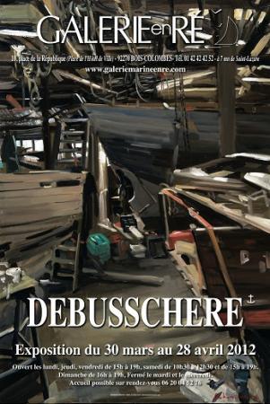 Christoff DEBUSSCHERE - affiche 2012