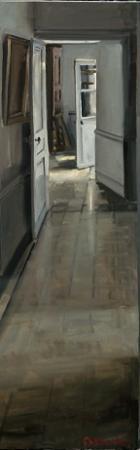Christoff DEBUSSCHERE - Le couloir clair 150x50