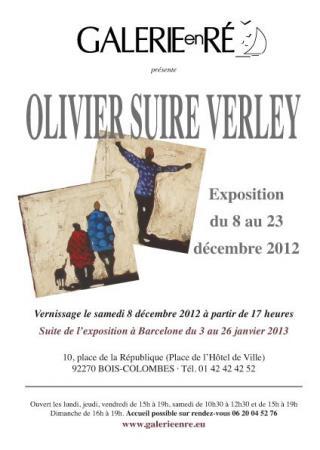 Olivier SUIRE-VERLEY - 12 Carton d'invitation 2012