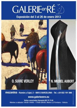 Nathalie MIQUEL AUBERT - Affiche Barcelona