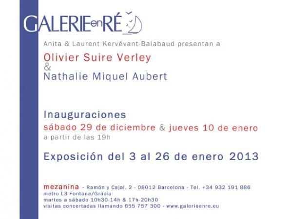 Olivier SUIRE-VERLEY - carton BCN Texte