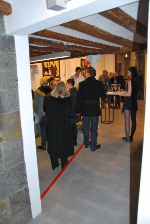 Les premières minutes de la galerie Barcelona - Le vernissage
