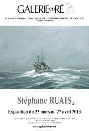 Stephane RUAIS - affiche 2013