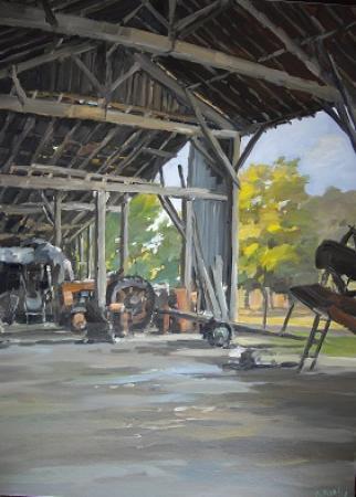 Stephane RUAIS - 13 le vieux hangar