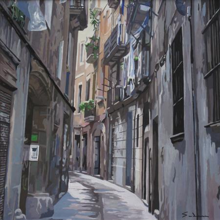 Jacques GODIN - Quartier gotic