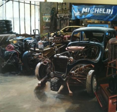 Christoff DEBUSSCHERE - garage Michelin 2013