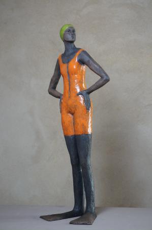 Sylvie du PLESSIS - Néophrène orange