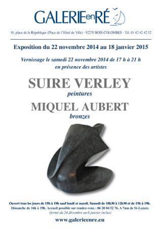 Olivier SUIRE-VERLEY - invitation Suire/Aubert 2014