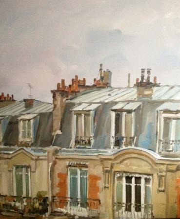 Stephane RUAIS - Les toits de Paris de l'atelier