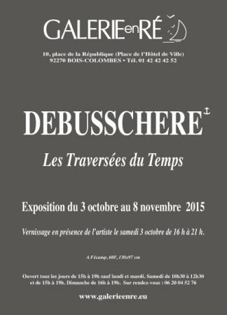 Christoff DEBUSSCHERE - 2015 invitation verso