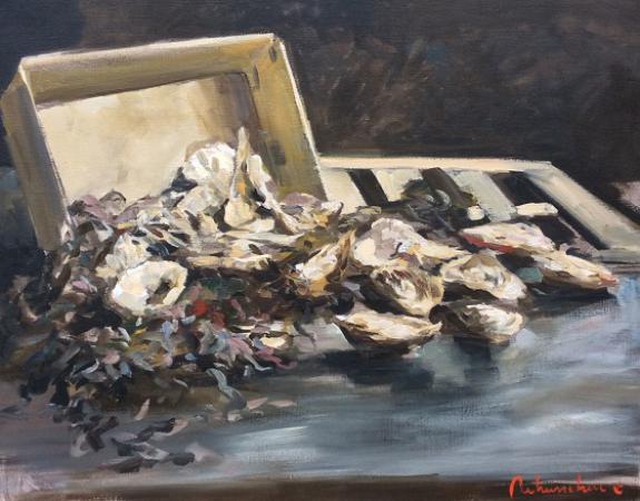 Christoff DEBUSSCHERE - 2015/11 Les huitres de Cancale 30 F 93X73