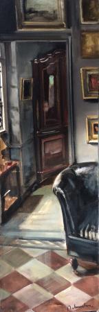 Christoff DEBUSSCHERE - 2015/85 L'entrée à St Hilaire 150x50