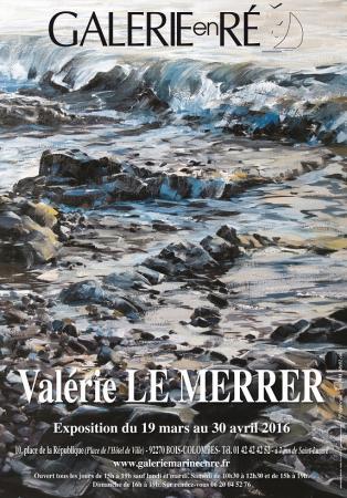 Valérie LE MERRER - 2016 Affiche 2016