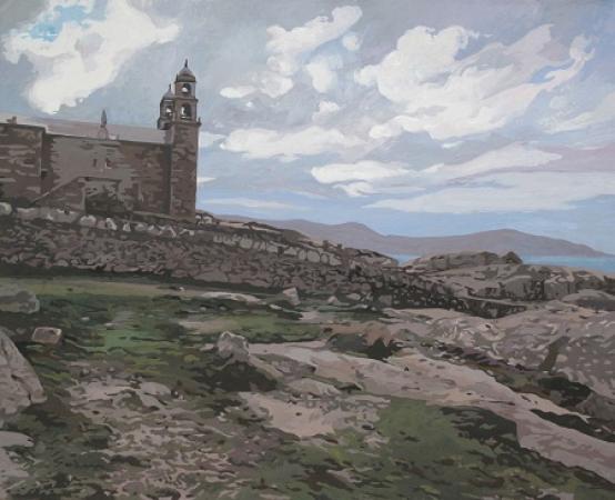 Jacques GODIN - 2016 Sanctuaire de la vierge 40x50