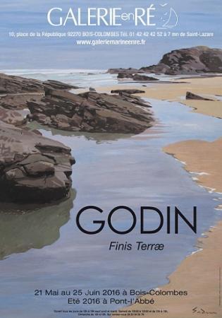 Jacques GODIN - 2016 Affiche 2016