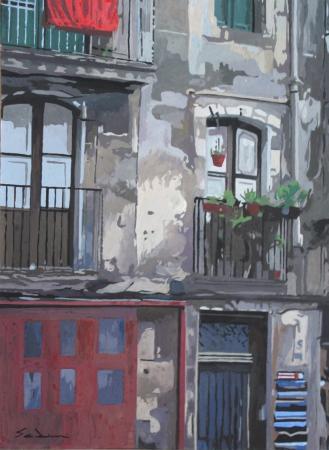 Jacques GODIN - 2016 Ruelle du Gotico 40x30