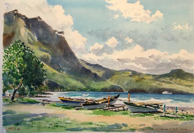 Guy LHOSTIS - 2017 Tahiti 9