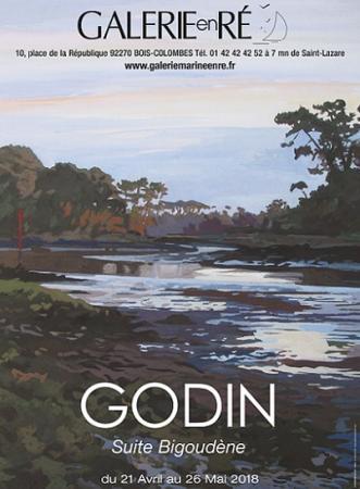 Jacques GODIN - 18 Affiche GODIN